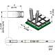 Наконечник JBC C105-131 клиновидный 2,0 х 0,35 мм (высокая теплопередача)